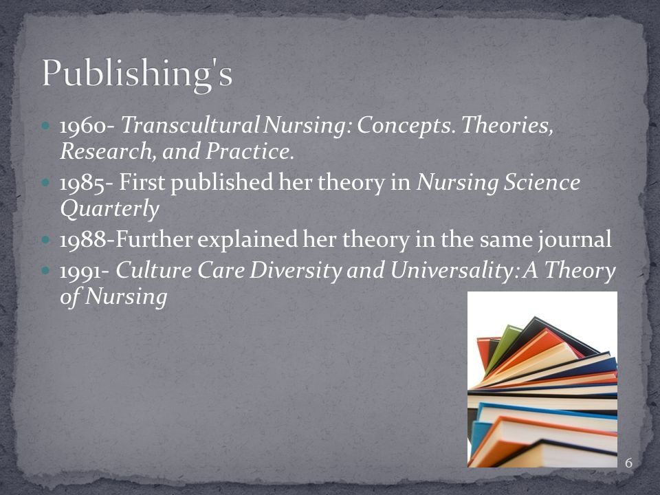 The Practicality of Nursing Theory in the Future