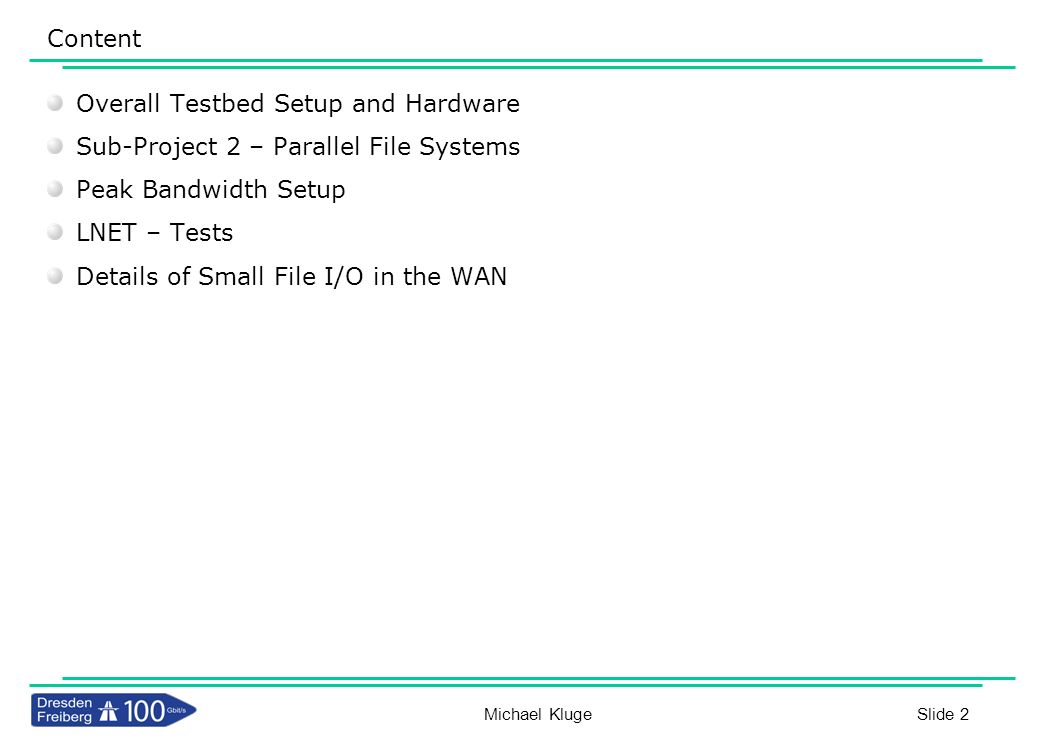 Overall Testbed Setup and Hardware