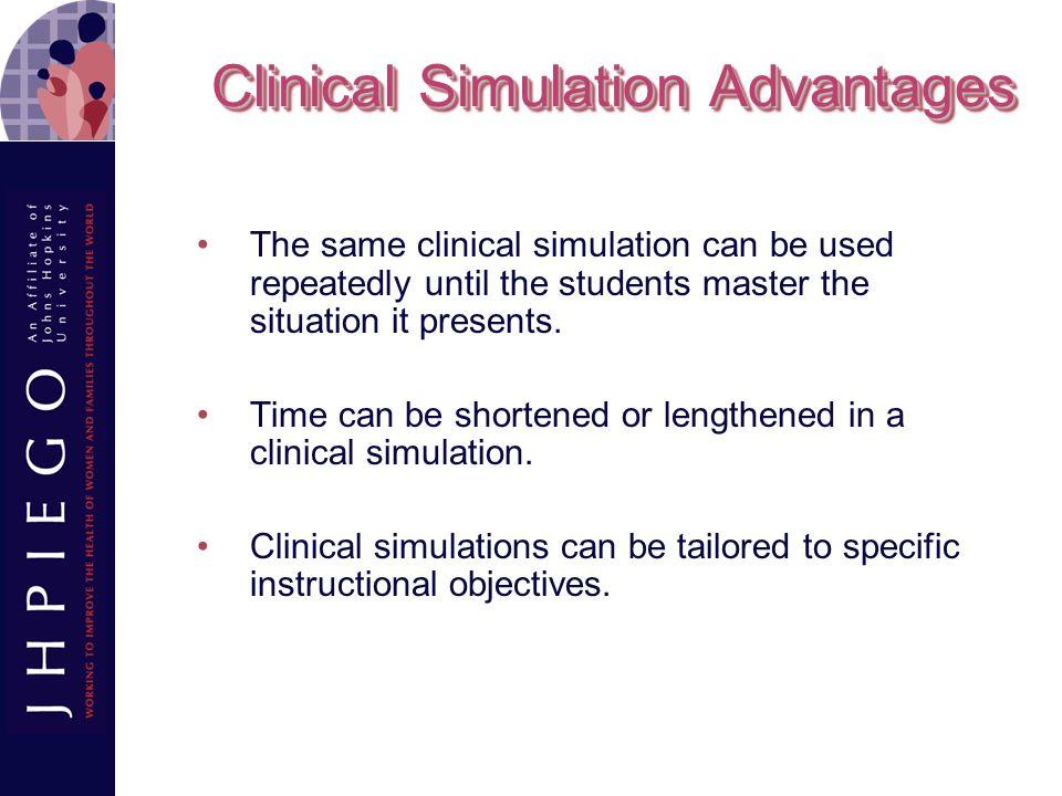 Clinical Simulation Advantages