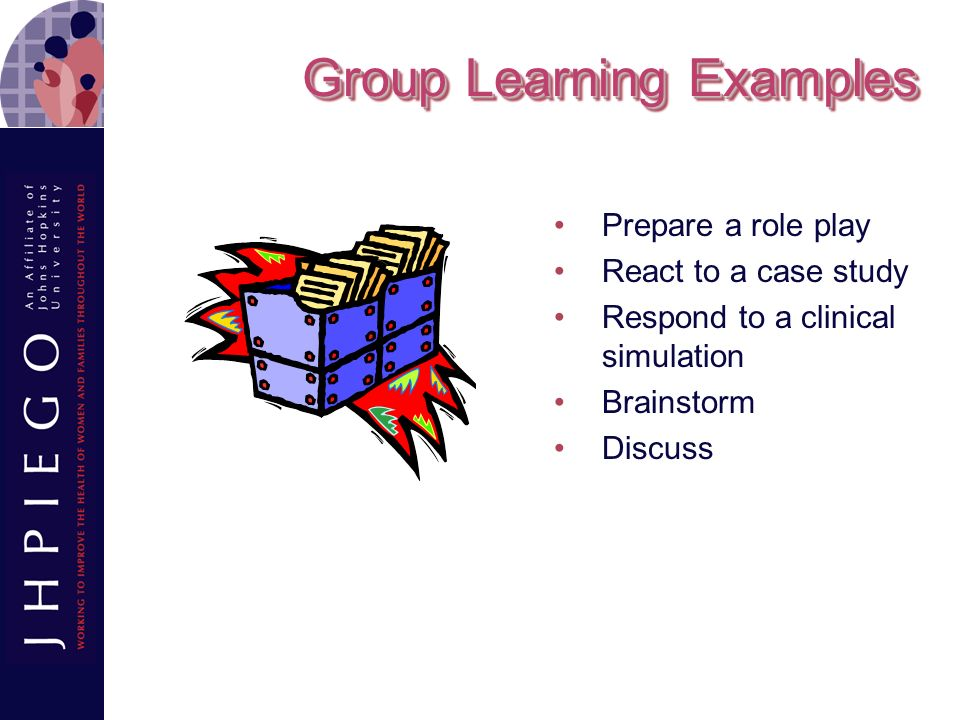 Group Learning Examples