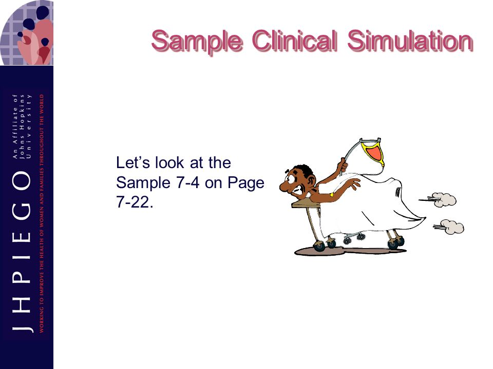 Sample Clinical Simulation