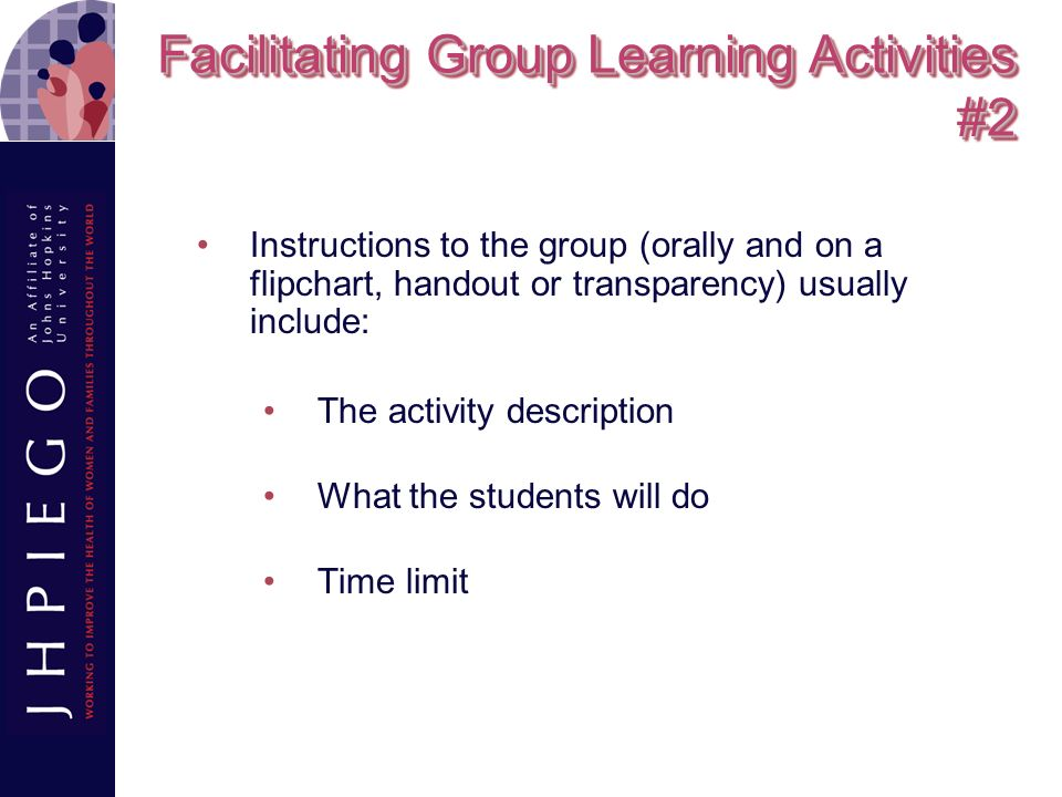 Facilitating Group Learning Activities #2
