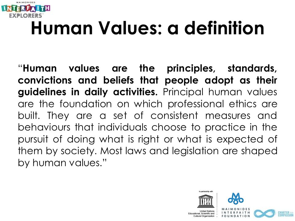 Values and Ideas That Guide Our Work
