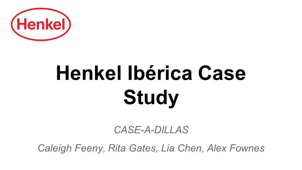Henkel Iberica (A) Harvard Case Solution & Analysis