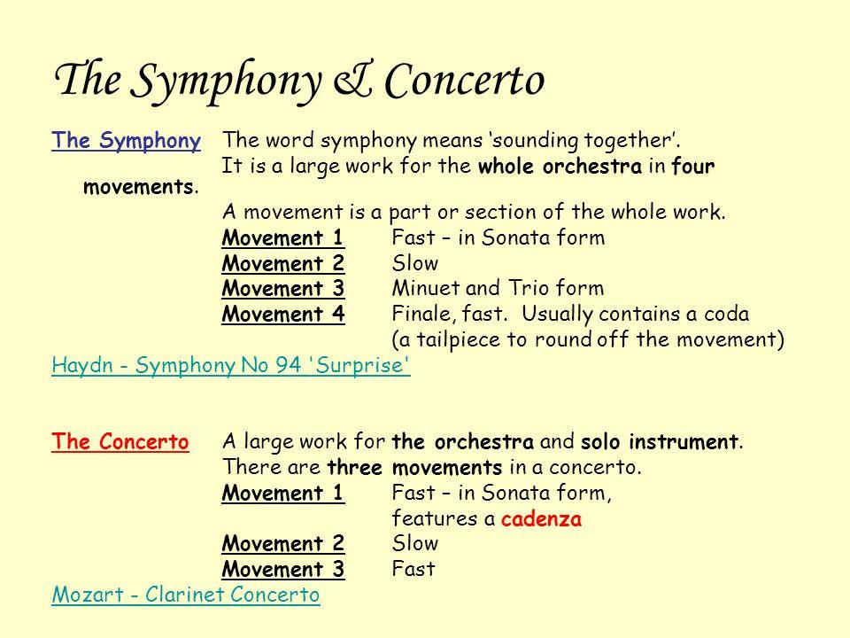 Advanced Higher Understanding Music Classical Period - ppt video ...