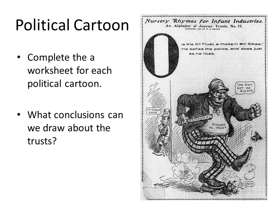 Political Cartoon Worksheet : The growth of modern america ppt video online download