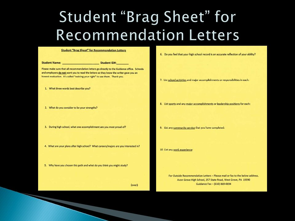 brag sheet Guide to applying to colleges and universities tips to help you in the college admissions process.