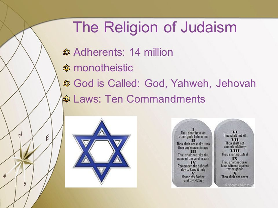 the religion of the judaism in the world