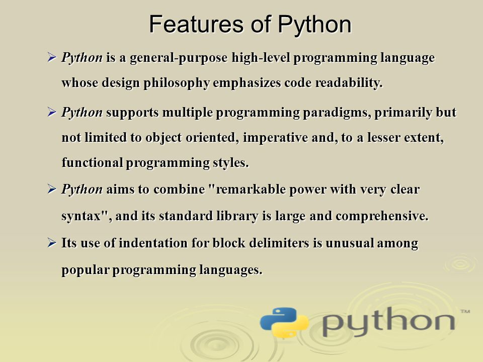 programming paradigms or styles Programming languages are many and varied, and like natural languages they encompass different styles (or paradigms) these different programming.