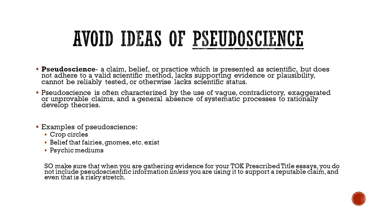 pseudoscience essay List of pseudosciences from rationalwiki jump to the entries are referenced from the skeptics society's the skeptic encyclopedia of pseudoscience finally.