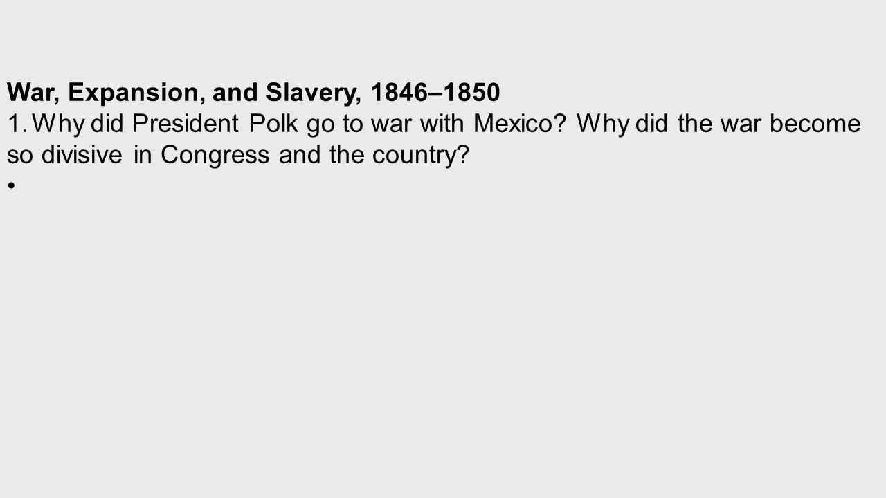 why did the expansion of slavery There were two main reasons for the expansion of slavery—the cotton gin's invention in 1796 and the united states' westward expansion the cotton gin allowed one slave to do the work of many.