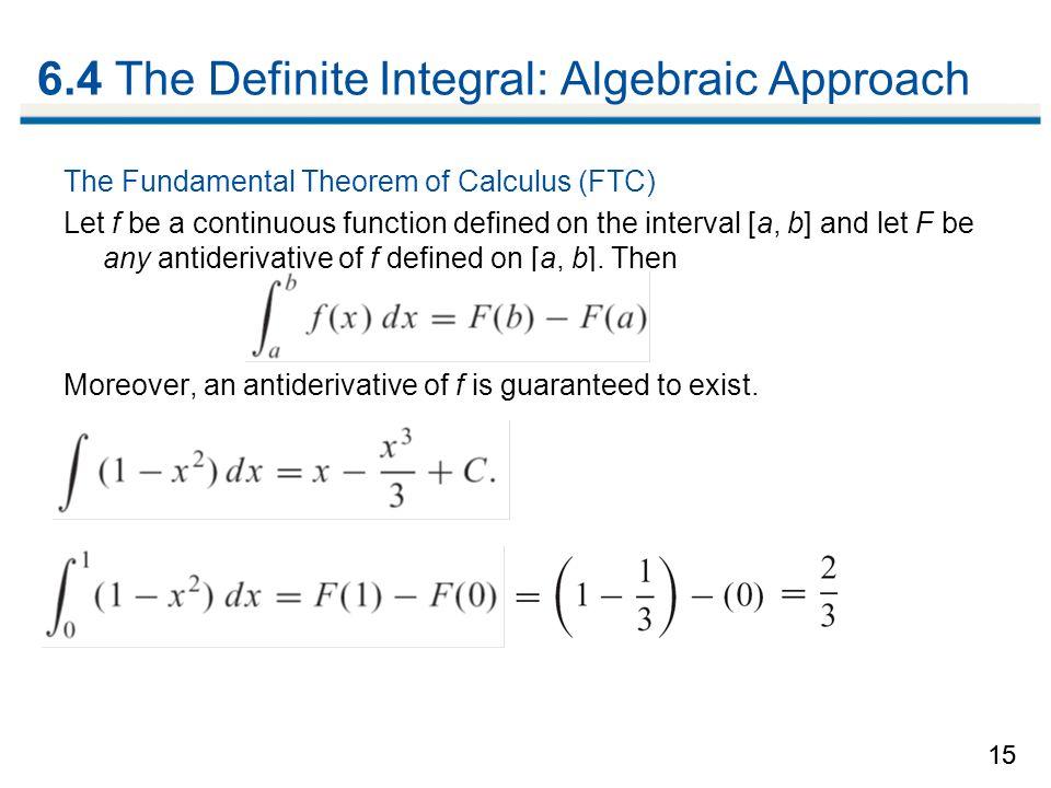 6 1 The Indefinite Integral Ppt Video Online Download