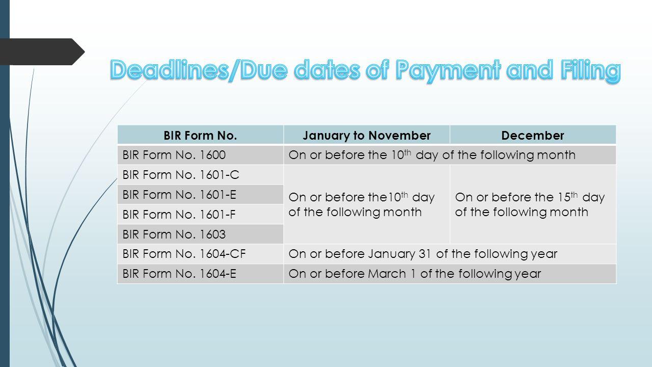 Philippines BIR Tax Software - Online Tax Filing | Online