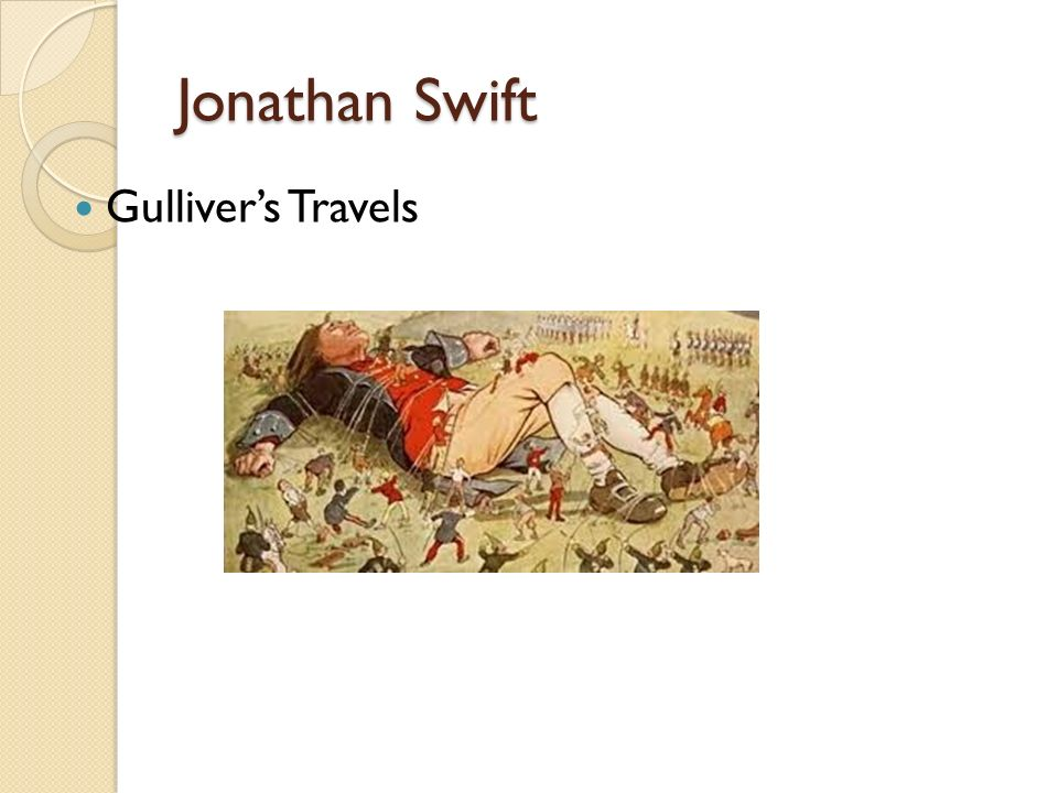 What is Swift satirizing in Gulliver's Travels?