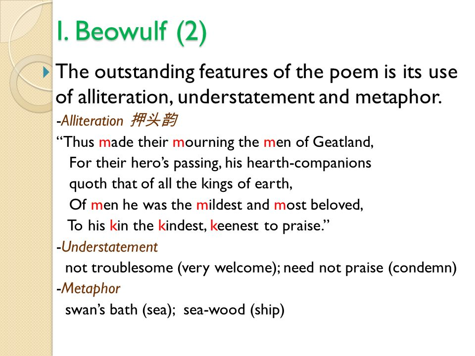 Use Of Alliteration In Beowulf Research Paper Help Qyassignmentlpyi