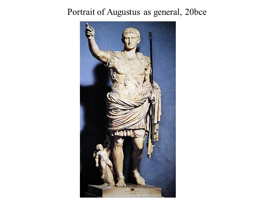 portrait of augustus as general essay Read this history other essay and over 88,000 other research documents augustus of prima porta augustus of prima porta in this paper for world art class, i will be discussing the statue of augustus of.