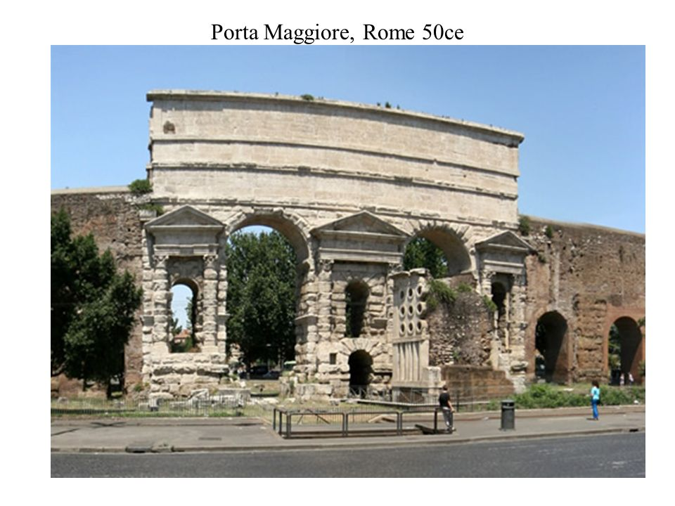 Roman art ppt video online download - Roma porta maggiore ...