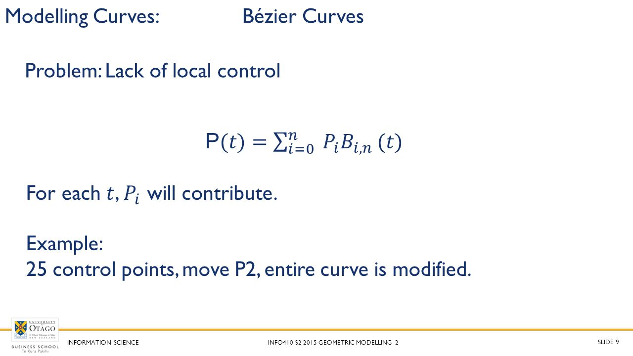bezier and ferguson curves C-curves are an extension of cubic curves, they depend on a parameter α 0, and their limiting case for α → 0 is a cubic curve they can cubic c-ferguson curve bézier, 1975 bézier pmathematical and practical possibilities of unisurf computer aided geometric design (1975), pp 127-152 boehm, 1980 boehm.