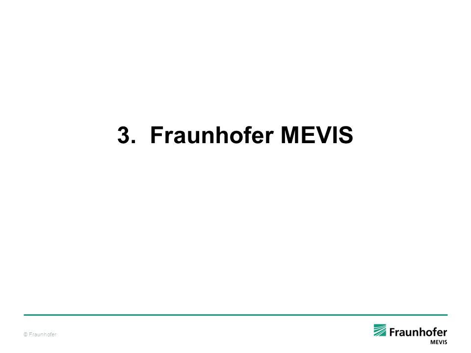 3. Fraunhofer MEVIS
