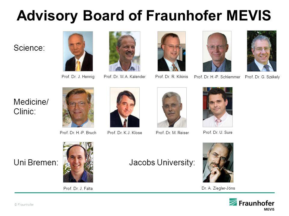 Advisory Board of Fraunhofer MEVIS