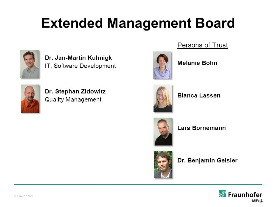 Extended Management Board