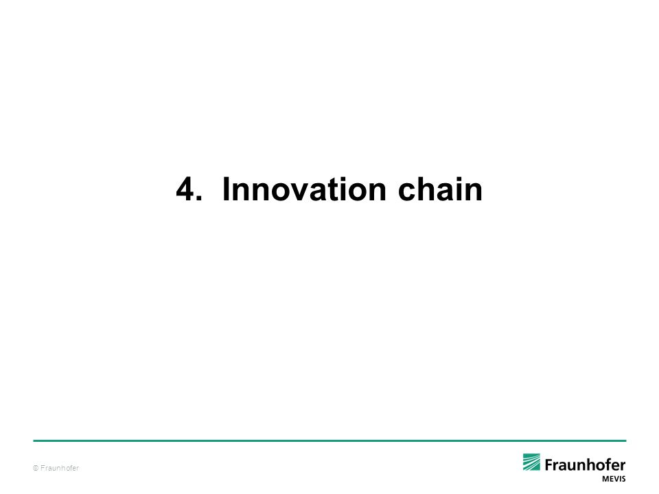 4. Innovation chain