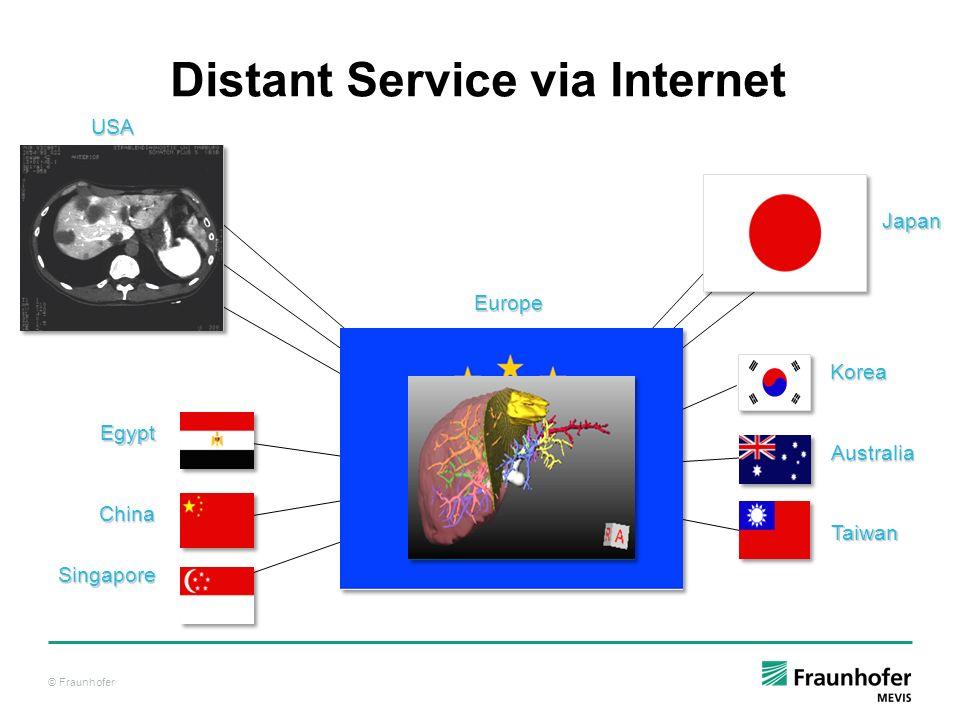 Distant Service via Internet