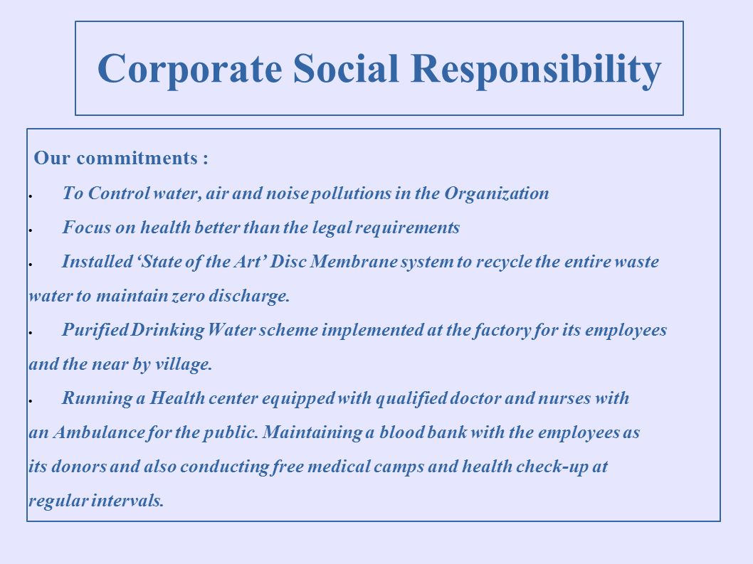 corporate social responsibility in barclays bank Barclays plc corporate social responsibility report 2003, published 2004 barclays bank plc authorised and regulated by the financial services authority.