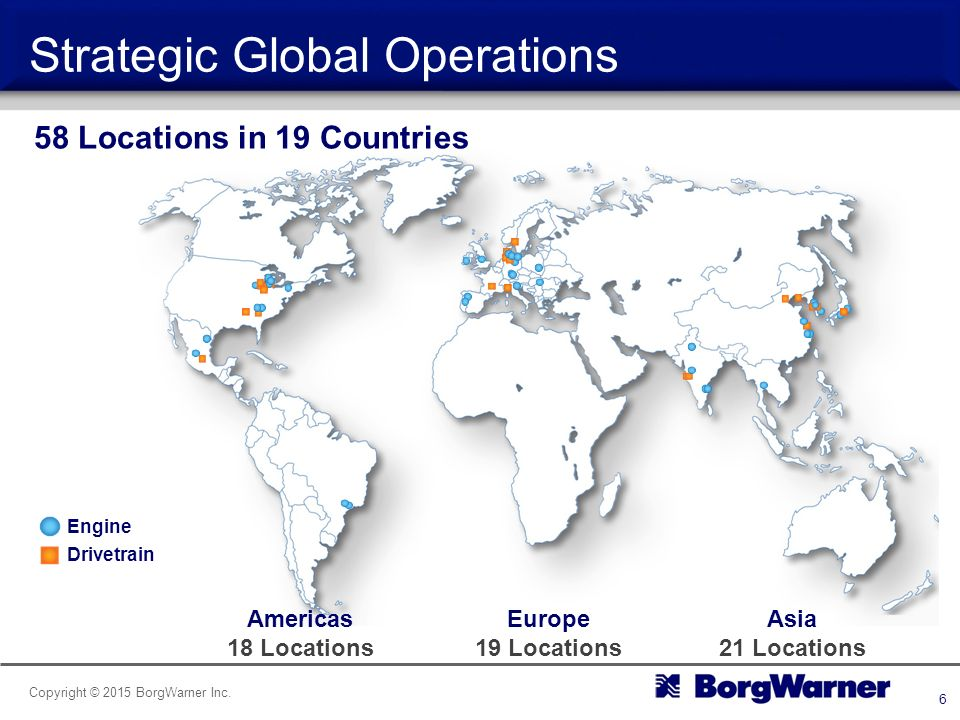 Borgwarner Company Overview Ppt Video Online Download