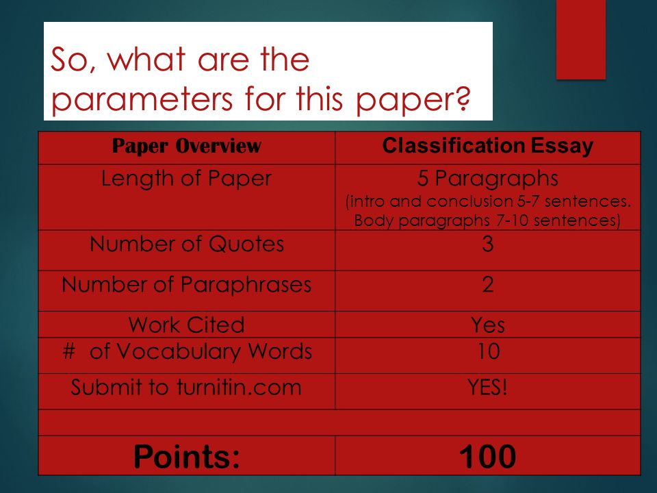 it parameters paper Remember to adhere to all parameters and guidelines of your paper assignment  this version of how to begin writing a research paper was reviewed by megan morgan.
