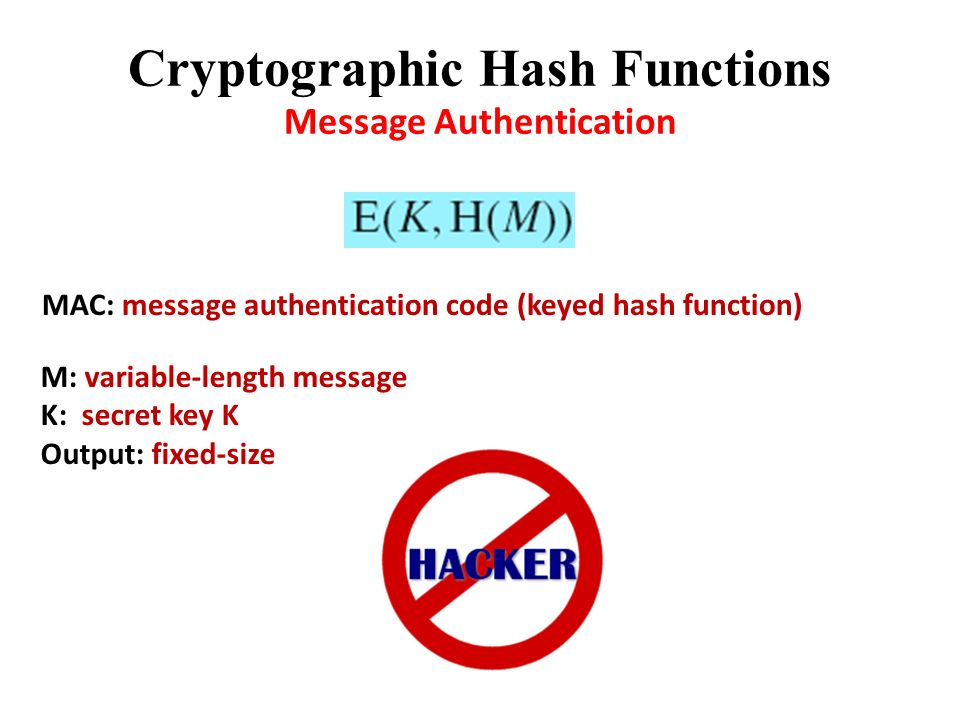 message authentication and hash functions pdf