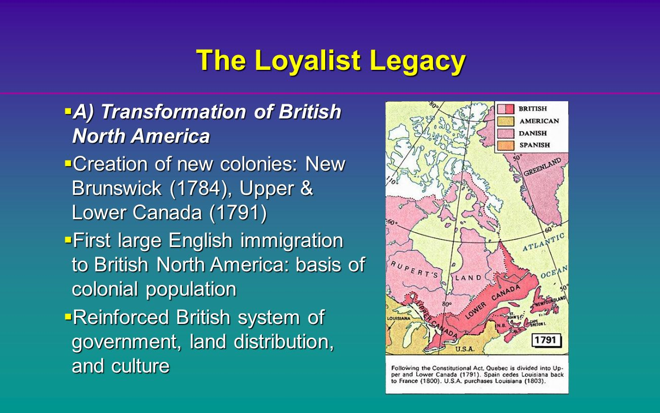 an analysis of the government of british north america Britain's hand was only felt lightly in the government of the individual colonies,  each of which had a legislature that passed laws and taxed the colonial citizens.