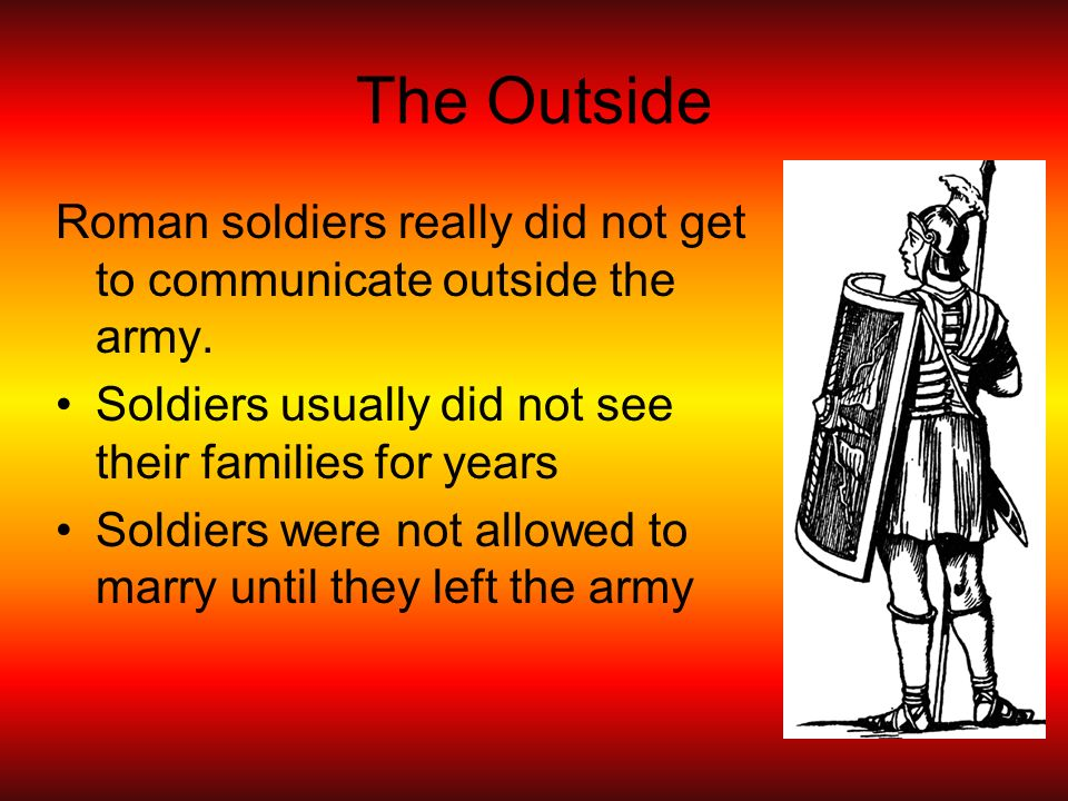The Roman Army Ppt Video Online Download