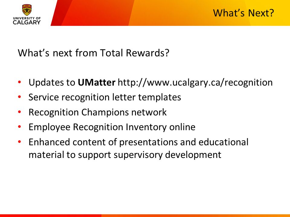 UFundamentals Employee Recognition ppt video online download