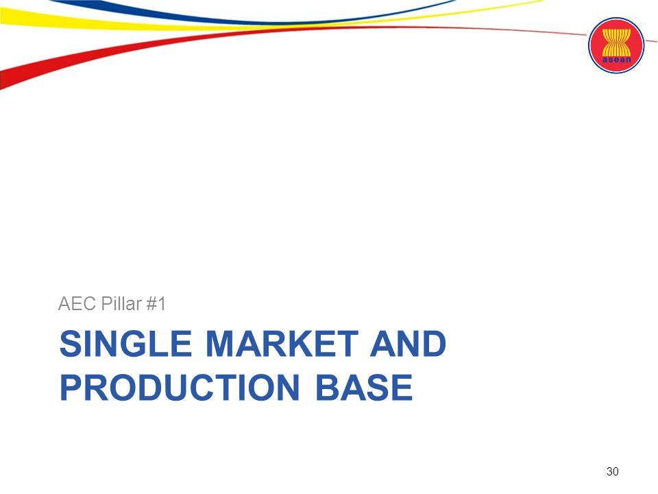 Asean community an overview ppt download single market and production base malvernweather Choice Image