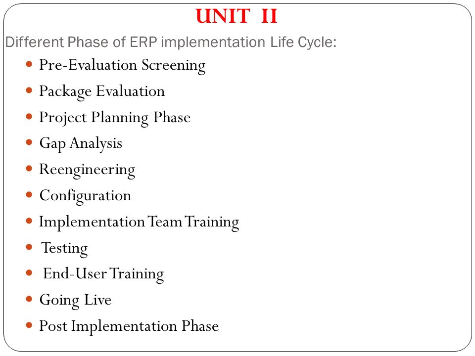 ERP Implementation Best Practices
