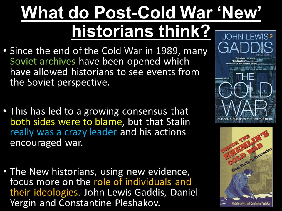 what factors led to the end of the cold war Historical analysis of the cold war  by the end of the 1950's,  the intensive indoctrination of the american people led to a regression of social reforms.