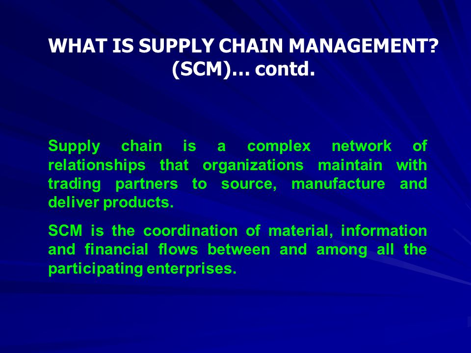 what is the relationship between operational management and supply chain management How to align the supply chain with operations management strategy  it's important to understand the relationship between a product or service and a company's .
