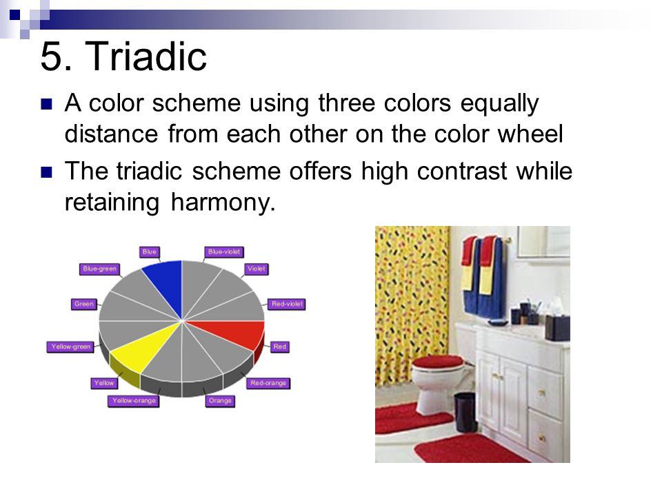 color schemes color harmony monochromatic analogous complementary ppt video online download. Black Bedroom Furniture Sets. Home Design Ideas