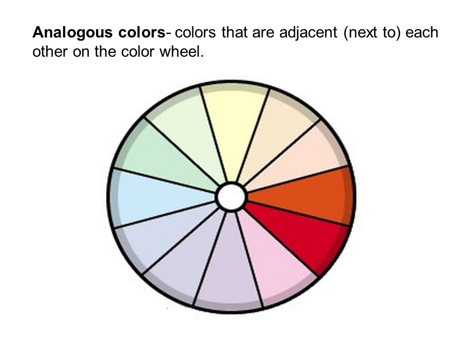 8 Analogous Colors That Are Adjacent Next To Each Other On The Color Wheel