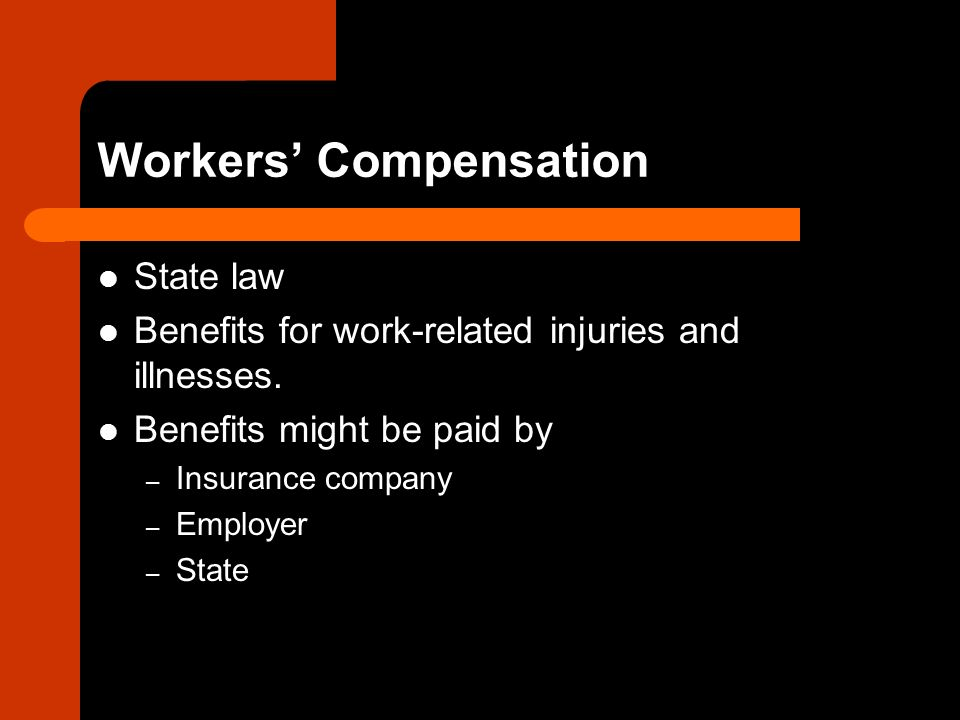 benefits and compensation in workplace Reporting a workplace  wage loss benefits are equal  and employer-sponsored pension benefits as earnings and deducts these from your compensation benefits.