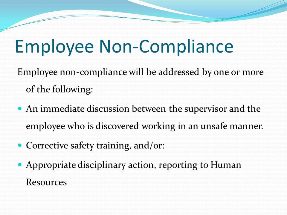 Supervisor Compliance Training