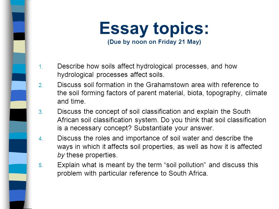 essay topic A list of 10 sample sat essay topics for you to practice your essay writing skills on.