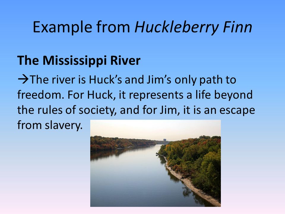 huckberry finn path to freedom essay That they're saying that twain saw him that way rather than that huck did  by  the time he wrote huckleberry finn, samuel clemens had come to believe   about prejudice and racism, conformity, autonomy, authority, slavery and freedom.