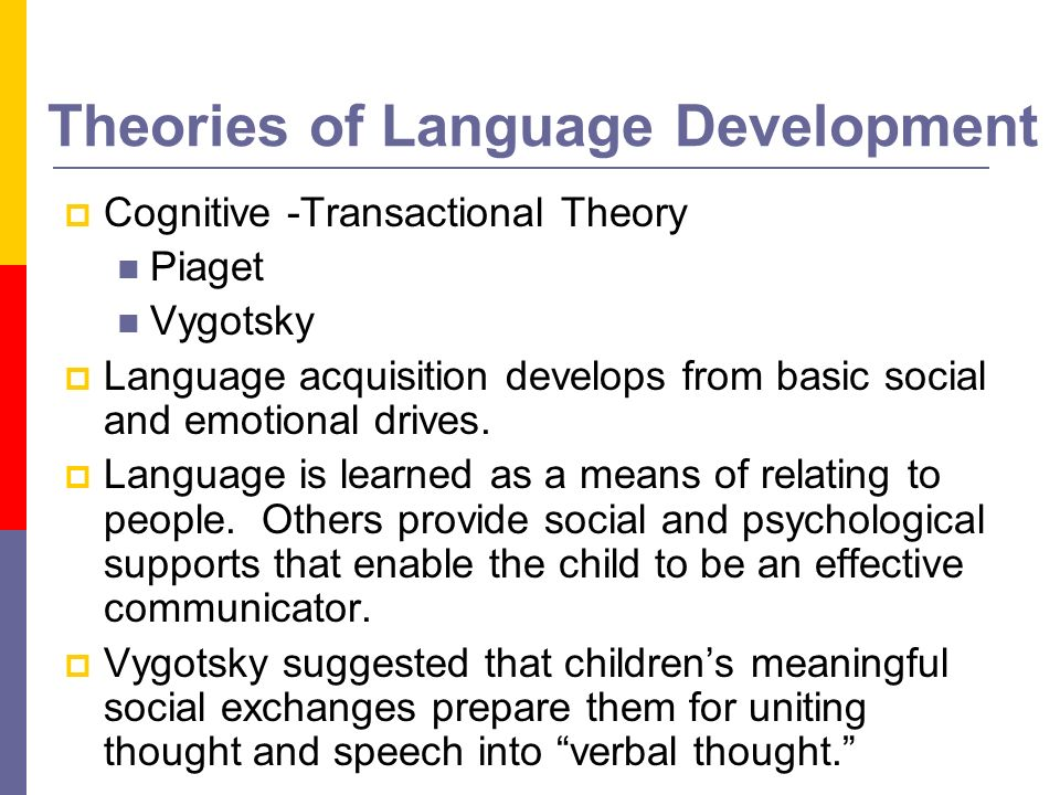 the biological basis of language development essay Structure the environment to ensure certain stimuli that would 'produce' learning 5 psychologist b f skinner (behaviorism or associationism) 3 needs for language formation:  time  opportunity  computing power skinner further explains that learning is the production of desired behaviors without any influence of mental processes.
