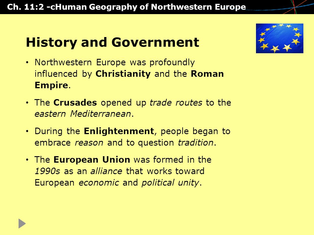 chapter 11 - northwestern europe