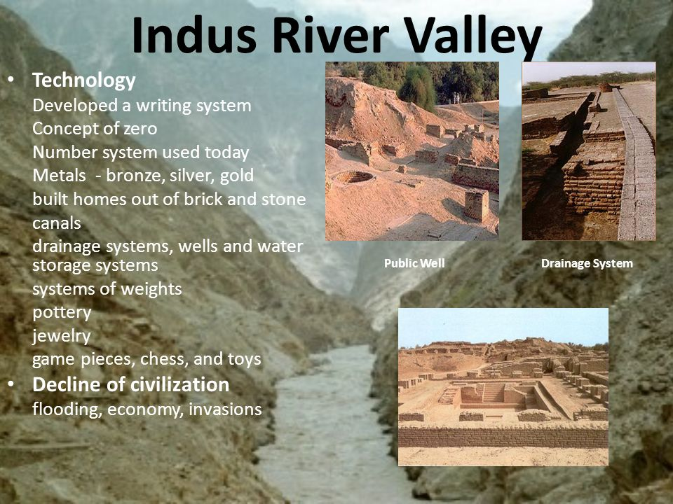 Indus River Valley Writing Indus River Valley Civ...