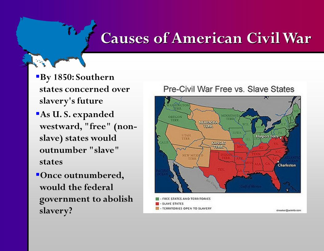 the causes of the american civil war the south vs the north The american civil war: causes and conflicts essay 1621 words 7 pages the american civil war, which began in 1861 to 1865, has gone down in history as the one of the most significant events to have ever occurred in the united states of america, thus far.