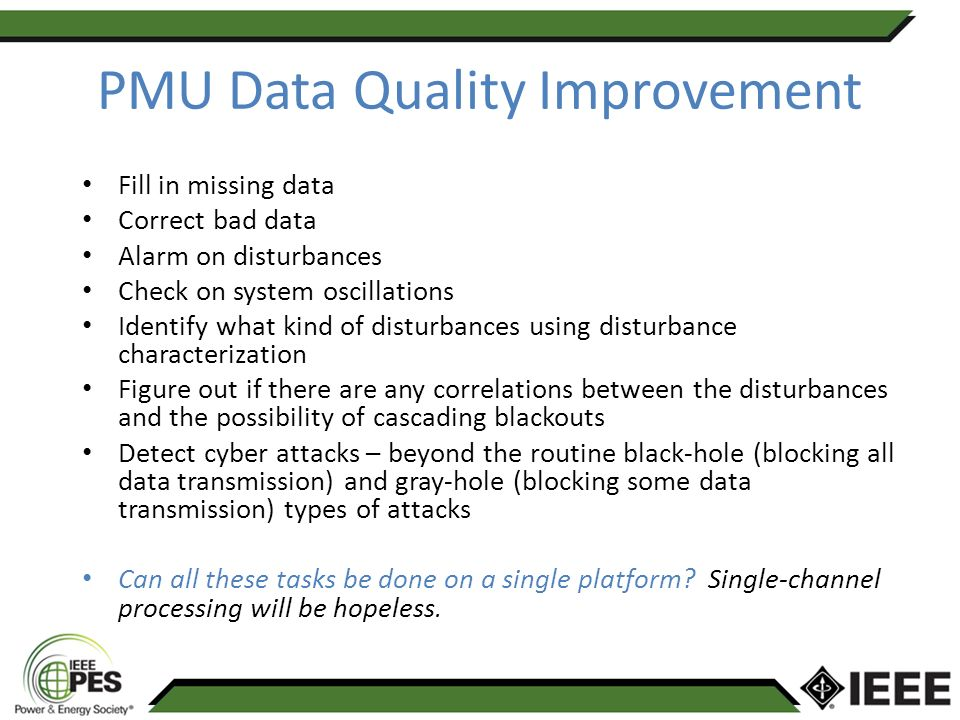 methods of studying for a pmu Pmu capability, installed at a substation is considered for the study the pmu communication (data traffic) and its interaction will be the focus of this contribution.