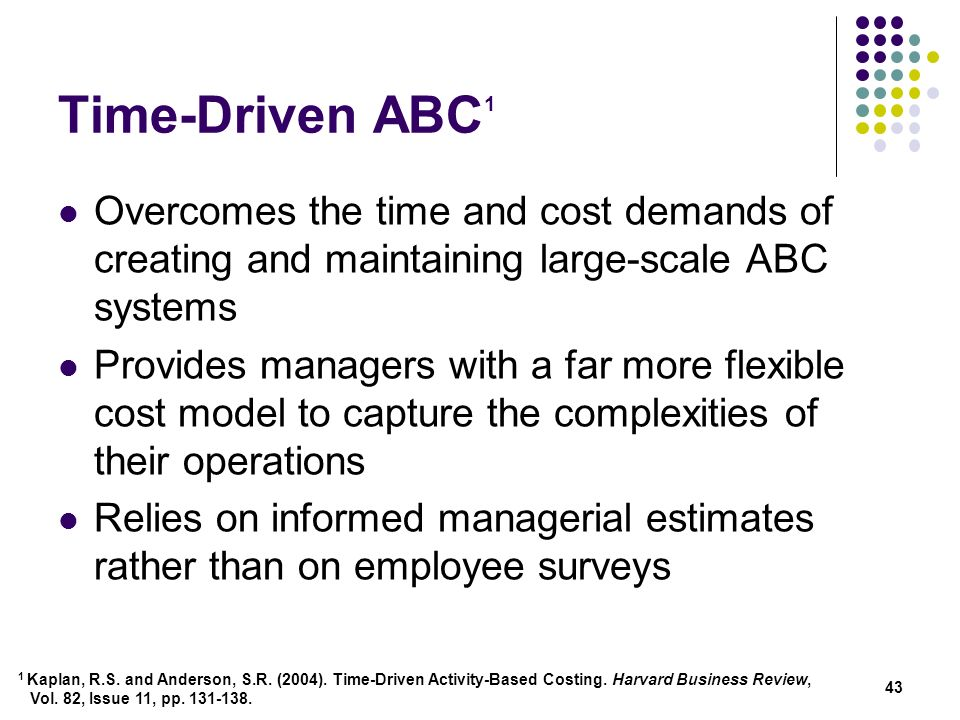 time driven abc What is time driven abc - find out more explanation for : 'what is time driven abc' only from this channel information source: google.